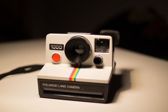 Polaroid 1000  Vintage Instant Camera  Land Camera  by VintageBP