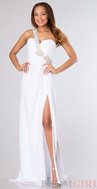 dress white white dress long dress long prom dress girly fashion style pretty glitter one shoulder prom dress black one shoulder dresses one shoulder prom dress ball gown dress evening dress little clothes girl starry night white prom dress prom sexy prom dress formal dress formal event outfit long evening dress evening outfits