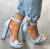 shoes,heels,heels color pumps wedges sexy,strappy heels,high heels,sandal heels,cute high heels,peep toe heels,platform heels,platform high heels,blue high heels,aqua high heels,baby blue,baby blue heels,blue,blue jeans,blue shoes