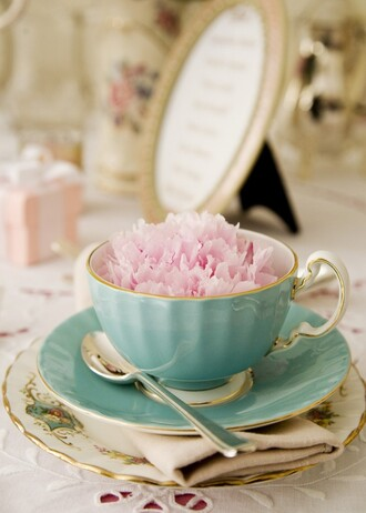 home accessory tea cup tea pastel blue classy romantic girly