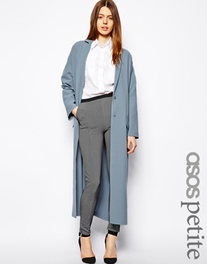 Asos petite duster coat at asos