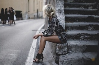 dress beautiful black gold