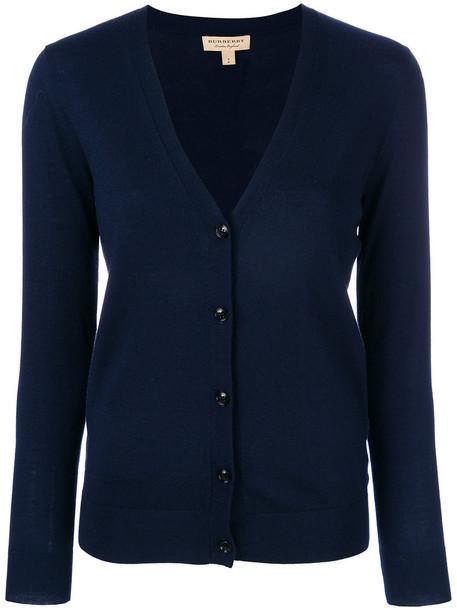 Burberry cardigan cardigan women blue sweater
