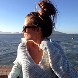 sweater v neck jumper knitwear
