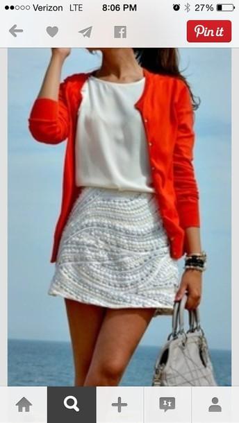 skirt shirt blouse