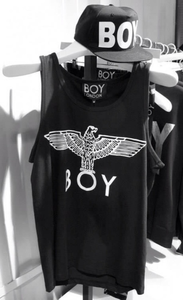 tank top boy london tank top