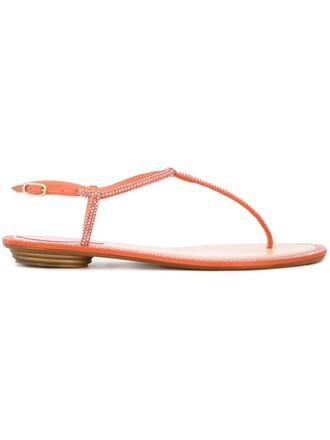 embellished sandals flat sandals purple pink shoes