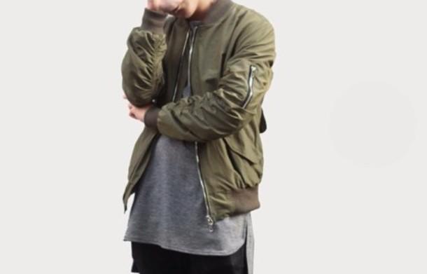 jacket bomber jacket olive green bomber jacket bombjacket