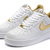 Nike Air Force 1 All Star 2011 Gold 315122-180 - Mens Nike Air Force Ones Nike Dunk Shoes