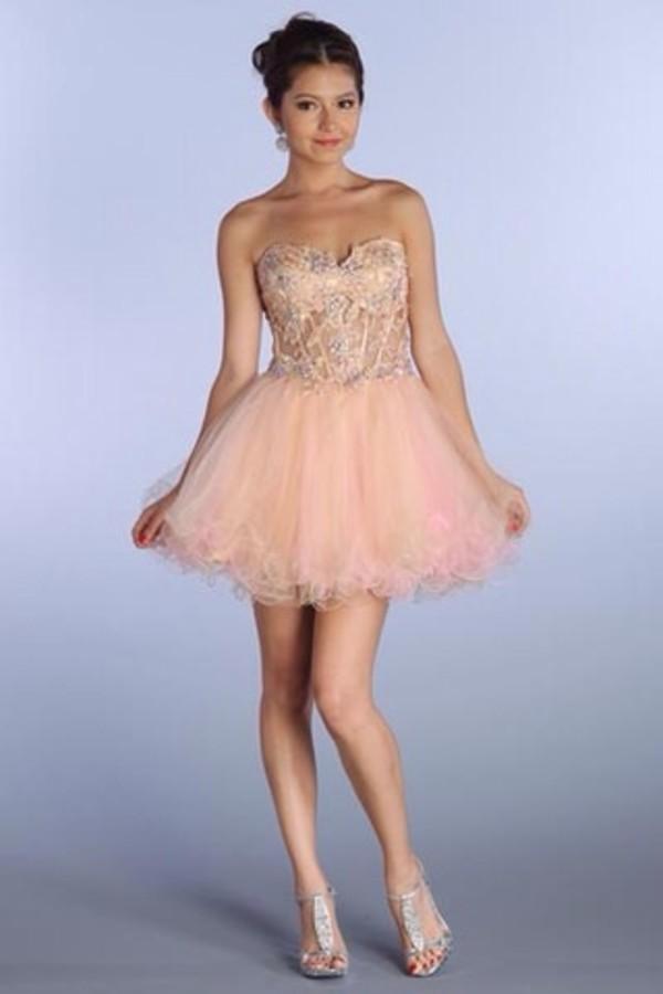 dress pink prom dress sparkle