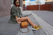 style by nelli,blogger,coat,shoes,shirt,top,jewels,sunglasses