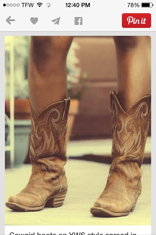 Eggshell Durango Boots - How to Wear and Where to Buy   Chictopia