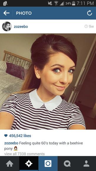 striped shirt collared shirts collar