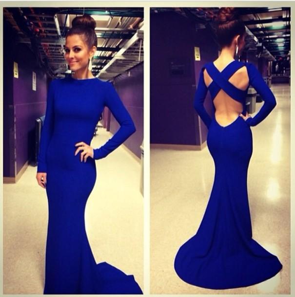 dress: blue dress, bag, dope prom dress, mermaid prom dress, cross