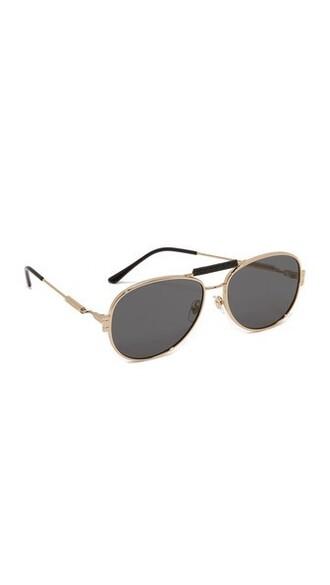 sunglasses aviator sunglasses gold grey