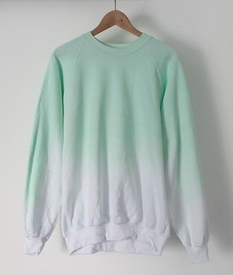 sweater gradient hoodie ombre