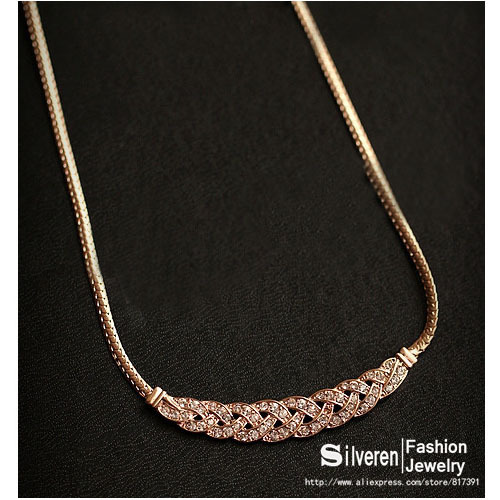 Aliexpress.com : Buy Hot 2014 New Charm Chains Metal Plated Gold Circles Collar Pendant Necklace for Women Luxury (Silveren NE100812) from Reliable necklace triangle suppliers on Silveren Jewelry