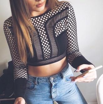 shirt black tank top