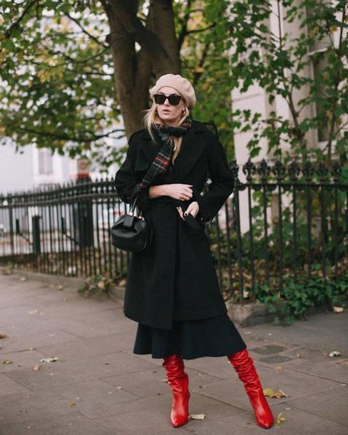 shoes boots coat hat