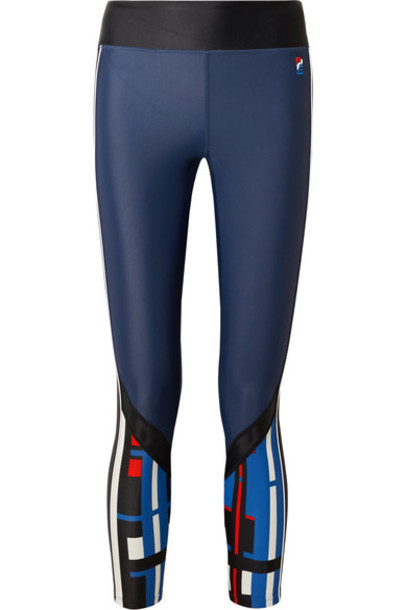 P.E Nation leggings blue pants