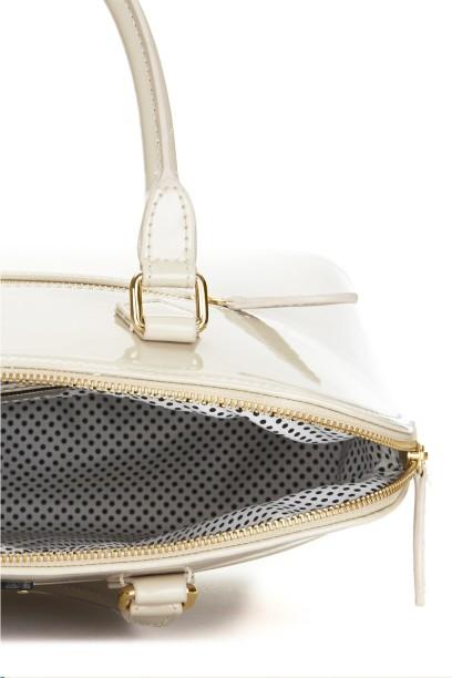 Maisy Handbag in Patent Nude