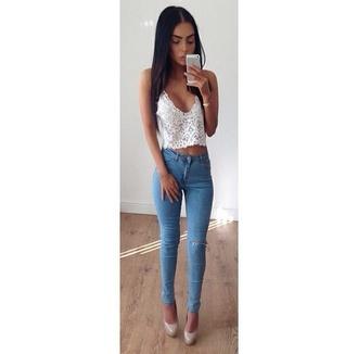 jeans pants top