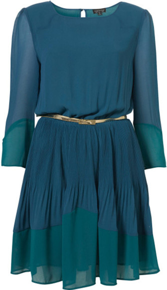 color block topshop teal revenge