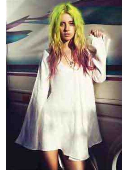 For Love & Lemons Luciana Dress in Ivory