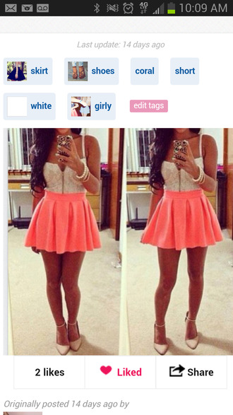 shirt outfit neon skirt top