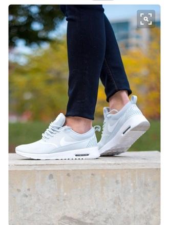 shoes blue nike women nike free run light blue air max nike sneakers low top sneakers