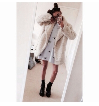 alternative fur coat tumblr outfit tumblr clothes trending on point clothing shoe game lookbook