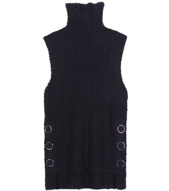 3.1 Phillip Lim Wool-blend Sleeveless Sweater in blue