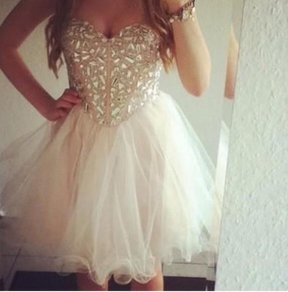 dress gold sequins gold dress prom dress grad dress white dress