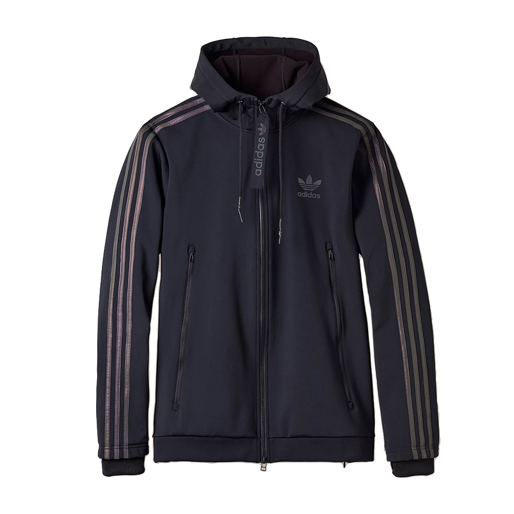 Adidas Xeno Hoodie (Black / Multicolour)