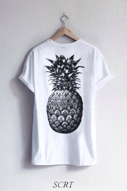 Who doesn't love pineapple t-shirt? This t-shirt features a 'LOVE' print with a golden pineapple on a marl grey fabric. Brand Name: VESSOSMaterial: PolyesterFabric Type: BroadclothSleeve Length(cm): ShortDecoration: NonePattern Type: LetterCollar: O-NeckSleeve Style: RegularCloth Pineapple Love Printed T-Shirt is a fan favorite.