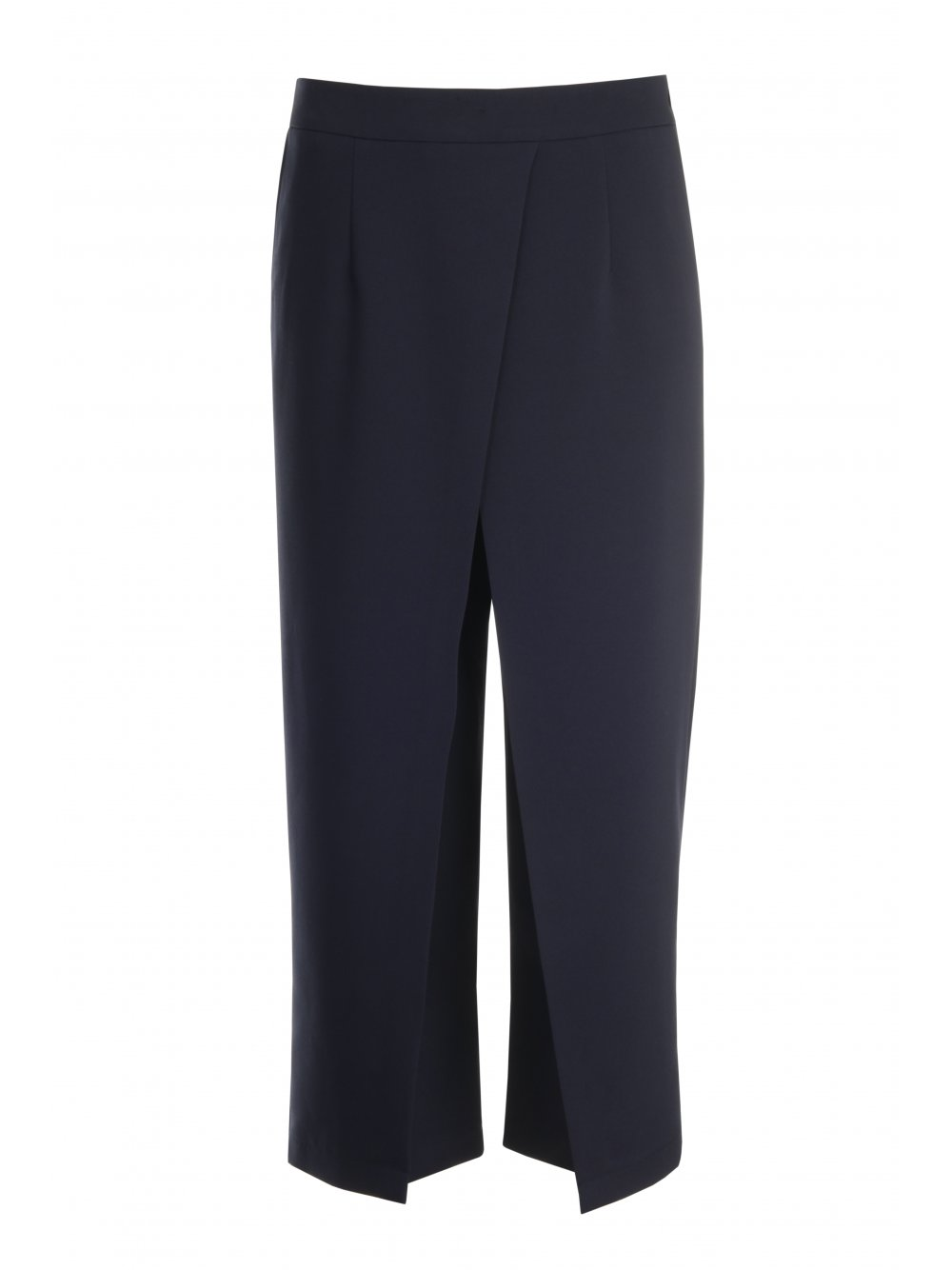 Navy Crossover Wrap Culottes - from Lavish Alice UK
