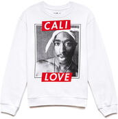 sweater,clothes,blogger,cali,tupac,celebrity,white,red,shoes