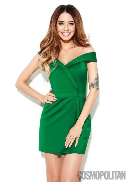 dress mini dress green green dress short dress
