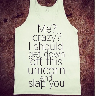 shirt unicorn funny cute unicorn shirt want love cute tank tops tank top quote on it