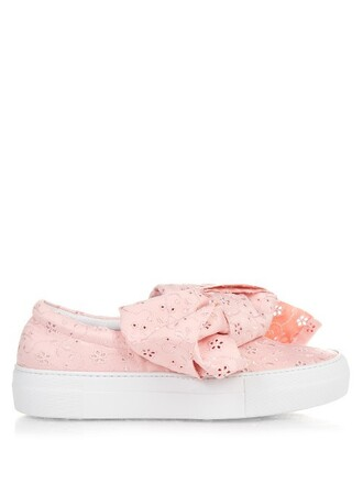 bow light pink light pink shoes