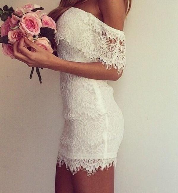 lace mini dress sexy dress prom dress elegant dress streetstyle stylemoi