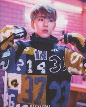 sweater,zico,K-pop,korean idol,rapper,clothes,jumper,twisted numbers