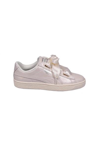 puma heart sneakers white shoes