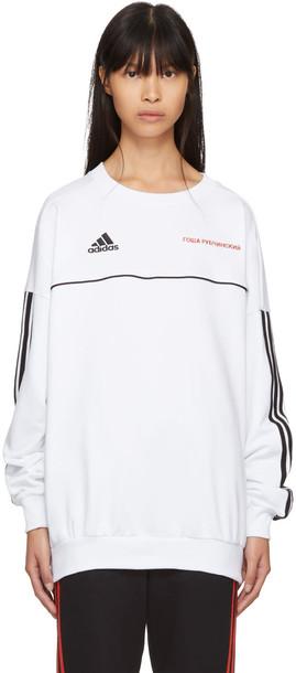 gosha adidas sweatshirt white