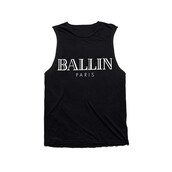 tank top,ballin,out,top,cut offs,paris,t-shirt,black,makeup table,vanity row,dress to kill,chic,trendy