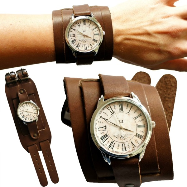 jewels watch watch brown vintage ziziztime ziz watch