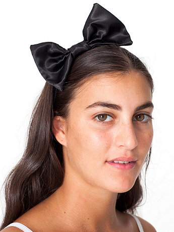 Bow Elastic Headband | American Apparel