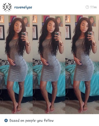 dress gray dress