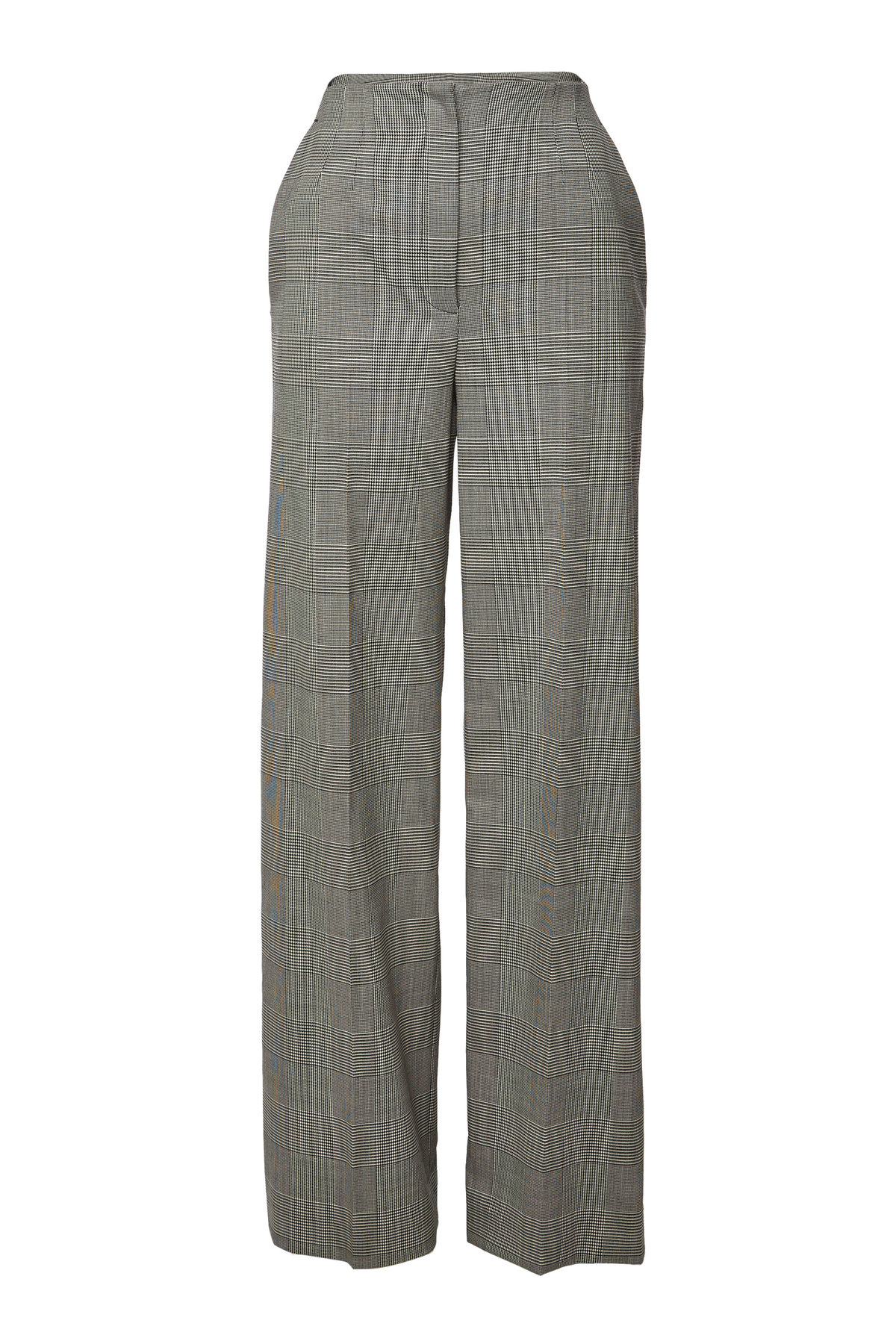 Proenza Schouler - Plaid Wide Leg Wool Pants