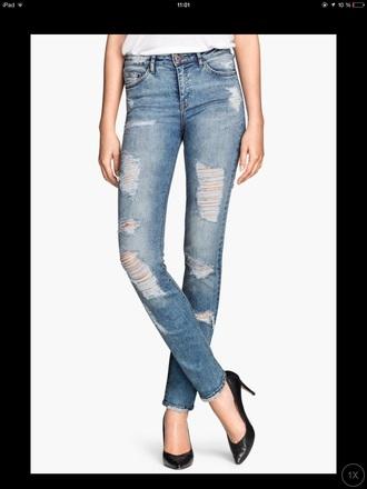 jeans blue jeans h&m